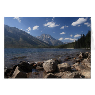 Jenny Lake Card