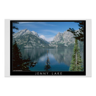 Jenny Lake Posters