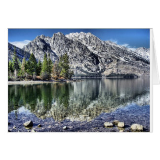 Jenny Lake Reflection Card