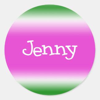 Jenny Pegatina Redonda