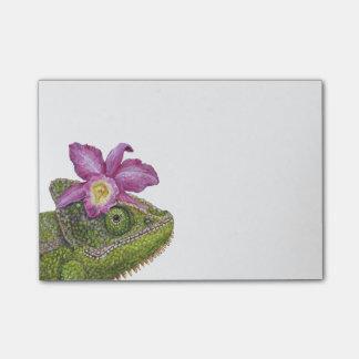 Jenny the chameleon post-it notes