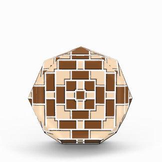 Jennys Beautiful Brick Pattern multiple products s Acrylic Award