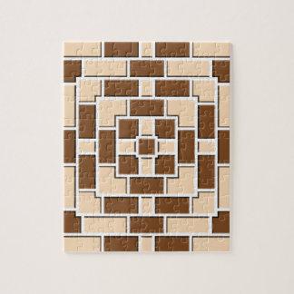 Jennys Beautiful Brick Pattern multiple products s Jigsaw Puzzle