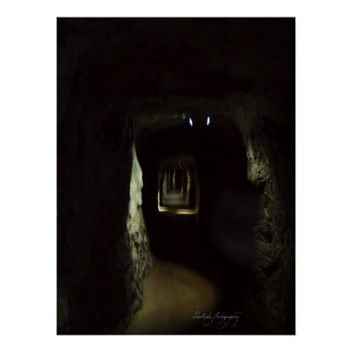 Jenolan Caves - THE GHOSTLY APPARITION Poster