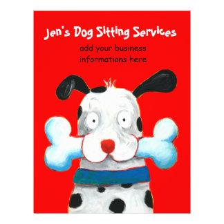 Dog Sitting Flyers & Programs | Zazzle