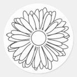 Jen's Gerbera sticker