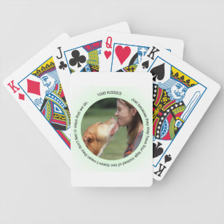 Jen's Jems 1000 kisses Bicycle Playing Cards