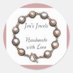 Jen's Jewels Handmade with Love Stickers