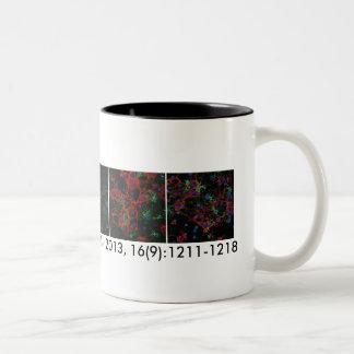 Jen's Nature paper Two-Tone Coffee Mug