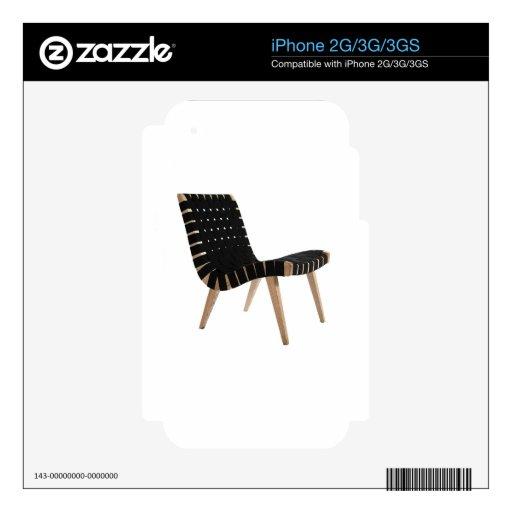 JENS RISOM por la silla moderna de la correa de lo Calcomanía Para El iPhone 2G