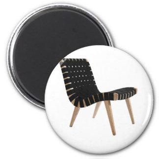 JENS RISOM por la silla moderna de la correa de lo Imán Redondo 5 Cm