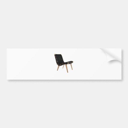 JENS RISOM por la silla moderna de la correa de lo Pegatina Para Auto