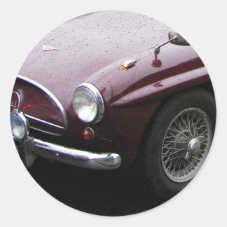 Jensen 541 Grille. Classic Round Sticker