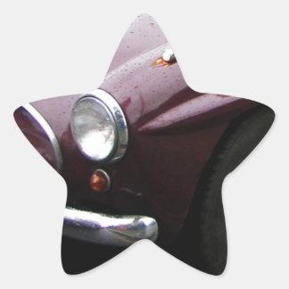 Jensen 541 Grille. Star Sticker