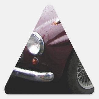 Jensen 541 Grille. Triangle Sticker