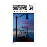 Jensen Beach Boardwalk postage stamp