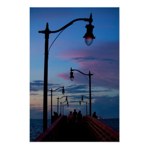 Jensen Beach Boardwalk print
