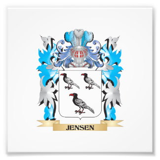 Jensen Coat of Arms - Family Crest Photograph