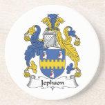 Jephson Family Crest Beverage Coaster