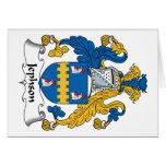 Jephson Family Crest Card
