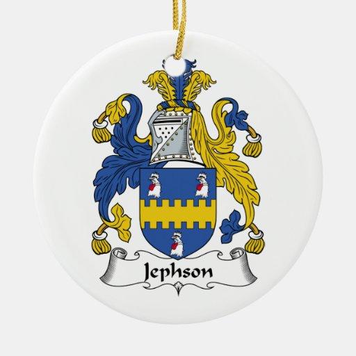 Jephson Family Crest Ornaments