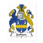 Jephson Family Crest Postcard