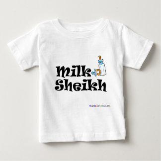 Jeque Tshirt de la leche Playera De Bebé