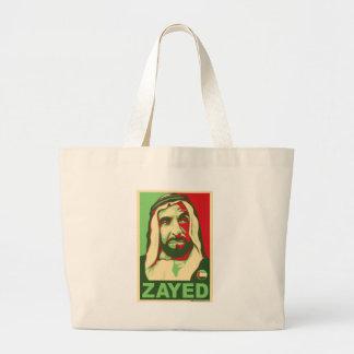 Jeque Zayed Products Bolsa Tela Grande