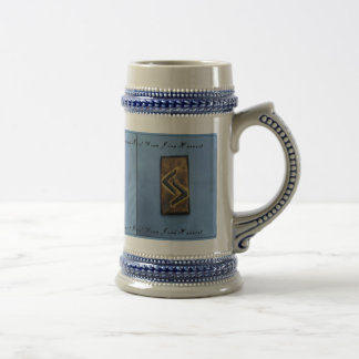 Jera Cedar Wood Rune Harvest/ Good Year Mug
