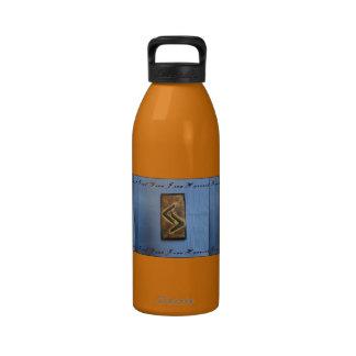 Jera Cedar Wood Rune Harvest/ Good Year Drinking Bottles