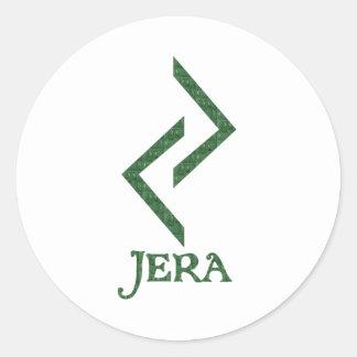 Jera Etiqueta Redonda