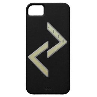 Jera Rune gold iPhone SE/5/5s Case