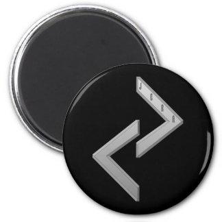 Jera Rune grey Magnet
