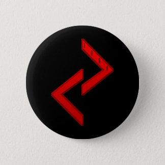 Jera Rune red Pinback Button