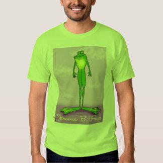 Jeramia B. Frog T-shirt Playera