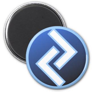 Jeran Jeraz Rune 2 Inch Round Magnet