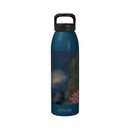 Jerarquía coralina botellas de beber