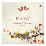 Jerarquía de amor - casar la tarjeta de RSVP Anuncios Personalizados