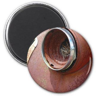 Jerarquía de la linterna imán redondo 5 cm