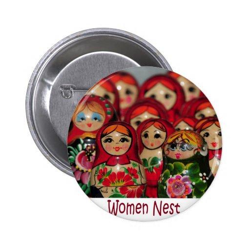 Jerarquía de las mujeres, muñecas rusas de la jera pins