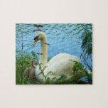 Jerarquía de los cisnes rompecabeza con fotos