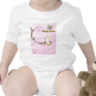 Jerarquía del conejito camiseta