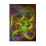 Jerarquía del dragón tarjetas postales