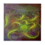 Jerarquía del dragón teja cerámica