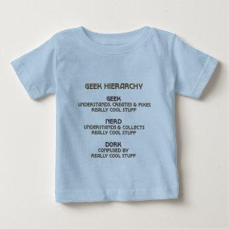 Jerarquía del friki (bronceada) t shirt