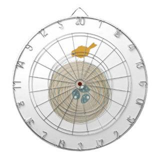 Jerarquía del pájaro tabla dardos