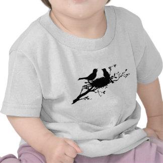 Jerarquía del pájaro camisetas
