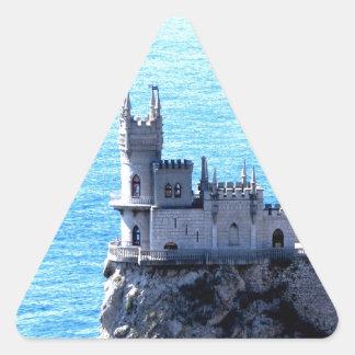 Jerarquía el Mar Negro del trago de Crimea de la Calcomania De Triangulo Personalizadas