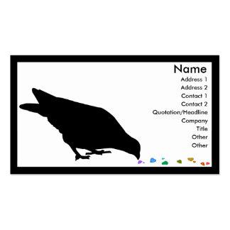 jerarquía tarjetas de visita