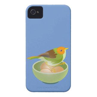 Jerarquización del pájaro funda para iPhone 4
